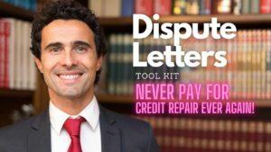 Dispute Letter No more credit repair