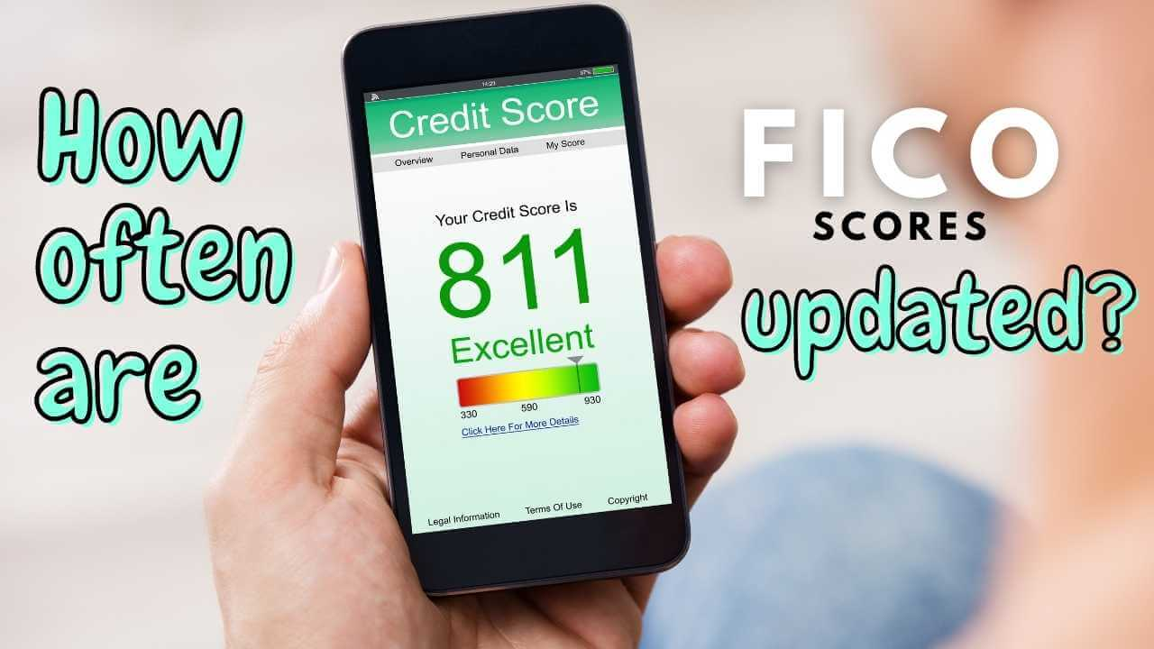 How often are fico scores updated